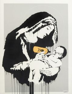 Banksy, Toxic Mary, 2004, Julien's Auctions: Street Art Now February 2016