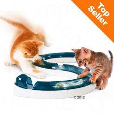 Animalerie Circuit de jeu Catit Design Senses pour chat 1 jouet