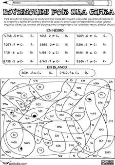 ejercicios de multiplicacion y division con dibujos - Buscar con ...