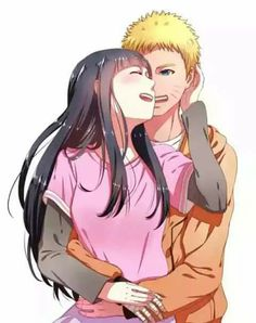 Naruto and Hinata ♥♥♥ #Love #Couple #Family #Beautiful #Cute