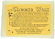 1 X Clear Cheese Wax 1lb New England Cheesemaking Supply ...