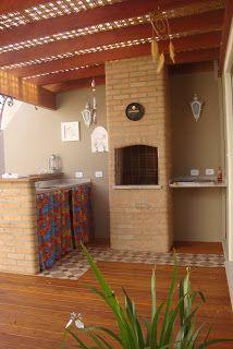 Área externa Decor, Little House, Mexico House, Patio Decor, Outdoor Kitchen, New Homes, House, Home Projects, Home Decor