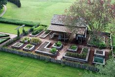 I could lay out the garden from the wood shop. Great idea!