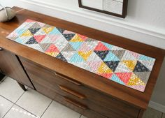 triangles table runner | Flickr - Photo Sharing!