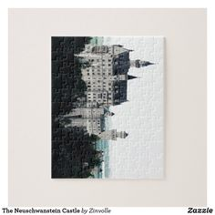 The Neuschwanstein Castle Jigsaw Puzzle Sleeping Beauty Castle, Germany Castles, Neuschwanstein Castle, Make Your Own Puzzle, Custom Gift Boxes, Chipboard, High Quality Images, Your Design, Jigsaw Puzzles