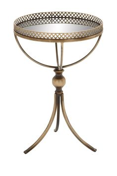 Mirrored Grey Accent Table by UMA on @nordstrom_rack