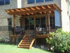 backyard decks | Decks Austin TX | Balconies Austin TX | Decks in Austin | Accent Deck ...  Love the Pergola