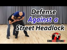 Defense against a Street Headlock - YouTube