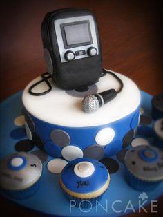 Karaoke Cake - Torta de Karaoke