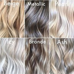 "Beauty Launchpad on Instagram: ""Which blonde tone are you getting the most requests for? ✨🐕🐚 @styled.by.julia #beautylaunchpad"""