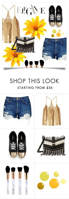 """""""Elegance"""" by valentinafullerton2 ❤ liked on Polyvore featuring Topshop, TIBI and Nine West"""