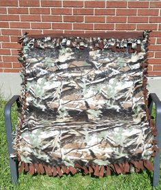 Camo bedding Camouflage blanket Camouflage by BlanketsBySarahLynn