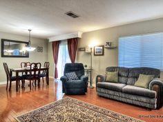 Livingroom & Dining Room. VERY open Floorplan with lots of natural light.