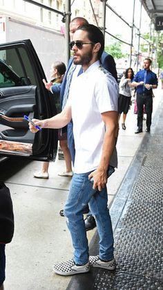 Jared in Manhattan 29.07.2016 (Leaving The Mercer Kitchen restaurant in Soho)