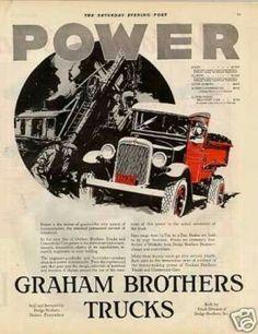 Graham Brothers Trucks 1928