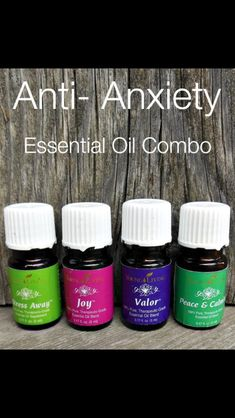 Anti-anxiety essential oils #anxiety #essential oils
