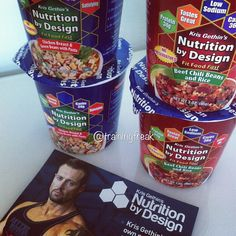 """Nutrition by Design"""" is going to get launched in Sweden and I'm one of the first persons to work with this. Right now there is 2 flavors. The blue one is chicken breast &green beans with pasta and contains 280 calories, 34g of protein and only 24g carbs. The red one is beef chili beans with rice and contains 330 calories, 34g of protein and 36g of carbs.  This will be launched before 2014 in stores in Sweden! Stay updated! If you have any questions just ask me!"""