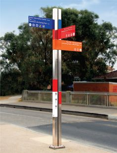 City of Frankston Wayfinding signage system—site audit, design, prototypes and specifications for production and installation of six sign types at 54 locations