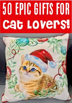 Christmas Gift Ideas for Friends and Family - Women or a Teenage Girl will LOVE . Christmas Gift Ideas for Friends and Family - Women or a Teenage Girl will LOVE these Cat Lover Gift Ideas {Purrfect Gif. Cat Gifts, Cat Lover Gifts, Gift For Lover, Cat Lovers, Trending Christmas Gifts, Christmas Gifts For Her, Teen Girl Gifts, Gifts For Girls, Birthday Surprise Boyfriend