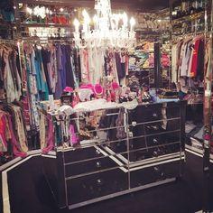 Paris Hilton closet