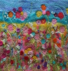 Brilliant wet felting tutorial from Rosie Pink Studios - these gals rock at felting :) by marina