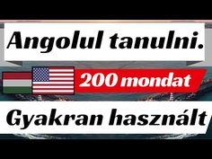 (11) Angolul tanulni [10] Mindennapi párbeszédek. 200 rövid mondatokat és egyszerű. - YouTube English Language, Youtube, Study, Studio, English People, English, Studying, Youtubers, Research