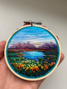 Your place to buy and sell all things handmade Wedding Embroidery, Embroidery Patterns Free, Hand Embroidery Stitches, Modern Embroidery, Embroidery Hoop Art, Hand Embroidery Designs, Cross Stitch Embroidery, Cross Stitches, Stitch Patterns