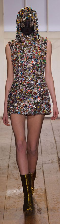 One Man's Trash Is Another's Treasure at Maison Martin Margiela Wow, that has to be one heavy dress