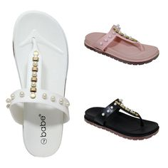 471d545c2867 Wholesale Bulk Lot of 30 Women Summer Flip Flops Sandals with Pearls