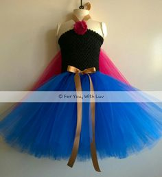 Traje de vestido de princesa cumpleaños juego de por ForYouWithLuv