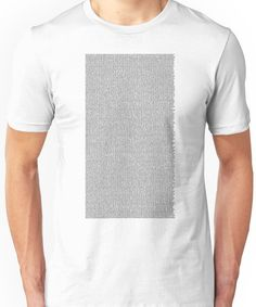 The Bee Movie Entire Script Unisex T-Shirt