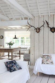 Une maison en bois près de la mer dans le Sussex