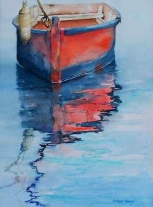 Celene Terry, The Museum of East Texas Culture in Palestine TX is featuring Artists of Star Harbor Watercolor Society