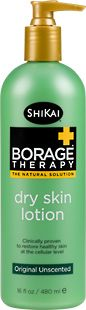ShiKai's Borage Therapy Original Unscented -- the ONLY all over body lotion that actually works and doesn't make me break out in a rash