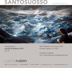 giovedì 26 febbraio personale di Francesco Santosuosso presso Galleria RUBIN - Via Santa Marta 10 Milano http://www.galleriarubin.com/current_exhibition.php?lang=ita&id_home=58