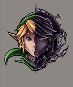 Link, The Legend of Zelda artwork by Pertheseus