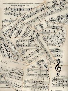 Vintage Sheet Music with a Flute Fleece Blanket - home gifts ideas decor special unique custom individual customized individualized Sheet Music Art, Music Paper, Vintage Sheet Music, Vintage Sheets, Paper Art, Music Sheets, Piano Sheet, Paper Crafts, Decoupage Vintage