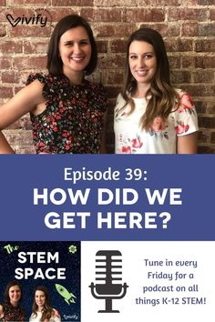 The STEM Space loves hearing from you! In this episode of The STEM Space, Natasha and Claire address an email from listener Jess Luttrell, who wanted to know how they decided to make the transition from careers in STEM fields to STEM education. Stem Fields, Teaching Tips, Claire, Tools, Education, Space, Floor Space, Instruments, Onderwijs