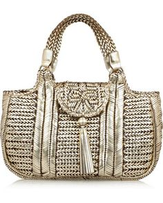 Anya Hindmarch Nesson Woven Leather Tote http://graceormonde.com/daily-photos/editors-daily-pick-anya-hindmarch-bag/