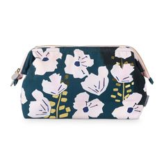 7a702de8a Buy the Wild Flowers Printed Wash Bag at Oliver Bonas. Enjoy free worldwide  standard delivery for orders over
