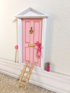 .·:*¨¨*:·. I have these kits all made and ready to ship! I can ship it same day you order them .·:*¨¨*:·. Encourage your childs imagination and their innocent wonder to bloom by welcoming this fairy door into your home. These magical door are portals and gateways to the magical