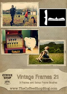 Free Photoshop Actions, Frames, Templates and MORE!