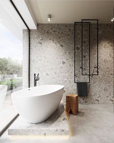 Bathroom suggestions, bathroom remodel, master bathroom decor and bathroom organization! Bathrooms could be beautiful too! From claw-foot tubs to shiny fixtures, they are the bathroom that inspire me the essential. Minimalist Bathroom Design, Bathroom Design Luxury, Luxury Bathrooms, Minimal Bathroom, Modern Bathrooms, Beautiful Bathrooms, Farmhouse Bathrooms, Modern Farmhouse, Bath Design