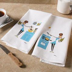 Bookish Cooks Tea Towels