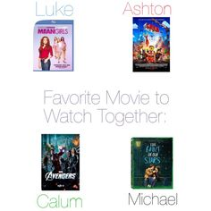 Favorite movie you watch together Luke And Ashton, Movies To Watch, Avengers, Watches, Fashion, Wrist Watches, Moda, Wristwatches