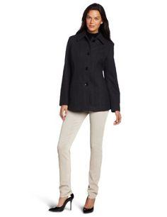 Anne Klein Women's Clara Wool Coat