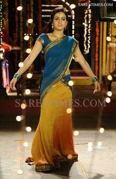 Latest designs of langa ooni/lehengas/half sarees from Bhargavi kunam ...