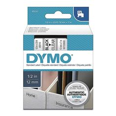 Blue on Clear Label Tape For DYMO D1 45011 LabelManager 280 260P 350 150 LM 1//2/""