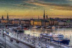 Stockholm Sunset (by Oliver Winter)