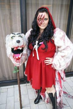 a red riding hood costume for halloween